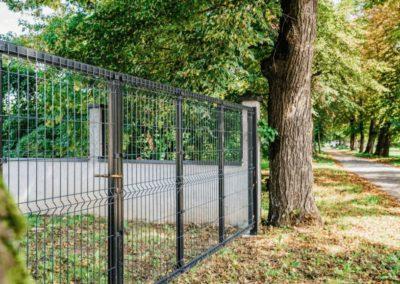 3d ograja z vrati